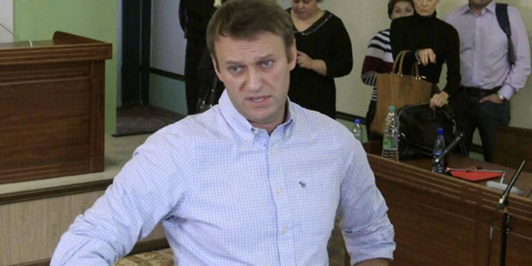 Bewährung für Putin-Feind Nawalny