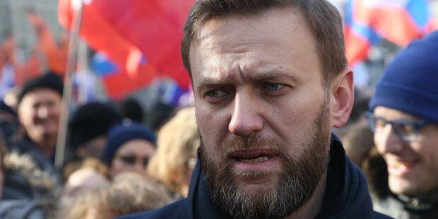 Kreml-Kritiker Nawalny vor Demo festgenommen