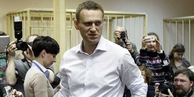 Putin-Kritiker Nawalny ist wieder frei