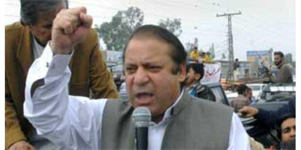 Sharif nennt Musharraf eine