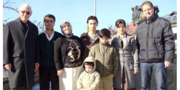 Kurden-Familie will in Österreich bleiben