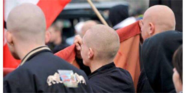 Großdemo gegen Rechtsextreme in Linz