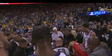 Wilde Schlägerei bei NBA-Kracher
