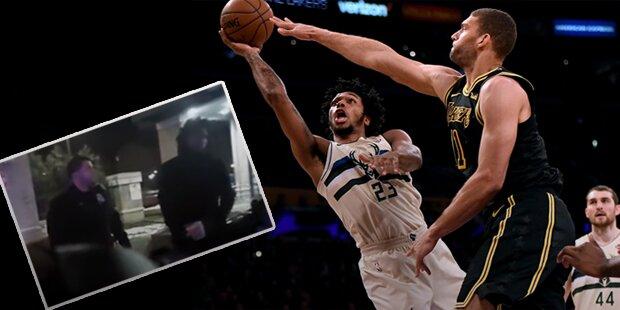 NBA-Star wird von Polizei getasert