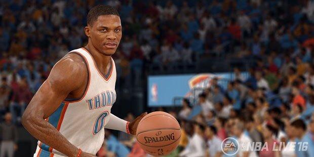 EA Sports schickt NBA Live 16 an den Start