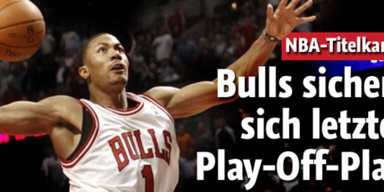 Bulls sichern sich letzten Play-off-Platz