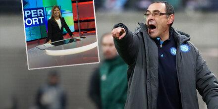 Neapel-Trainer sorgt für Sexismus-Eklat