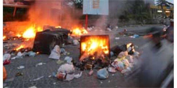 Müllchaos in Neapel verschärft sich