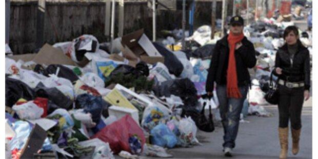 Neapel erstickt im Müll