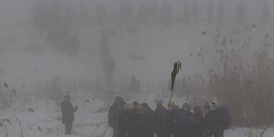 Flugzeug-Absturz in Kasachstan - 21 Tote