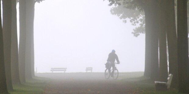 Nebel begleitet uns durch die Woche