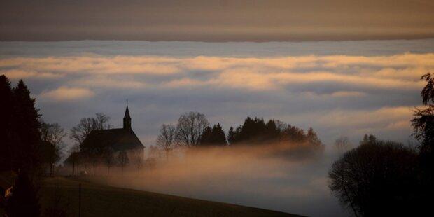Viel Nebel und Sonne am Wochenende