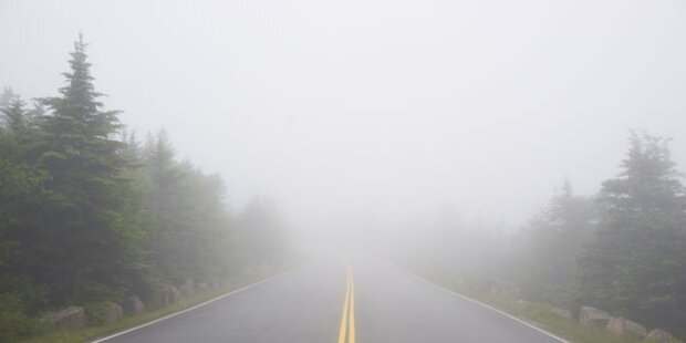 Herbst-Wetter: Vorsicht auf den Straßen