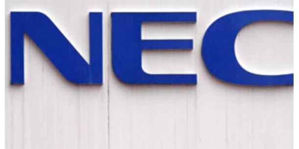 Japans Elektroriese NEC streicht 20.000 Stellen