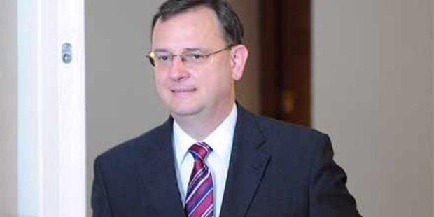 Petr Necas soll Regierung bilden