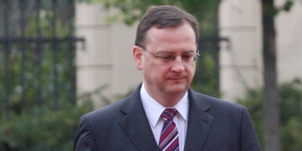 Debakel für tschechische Regierung