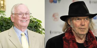 Neil Young von NBC irrtümlich für tot erklärt