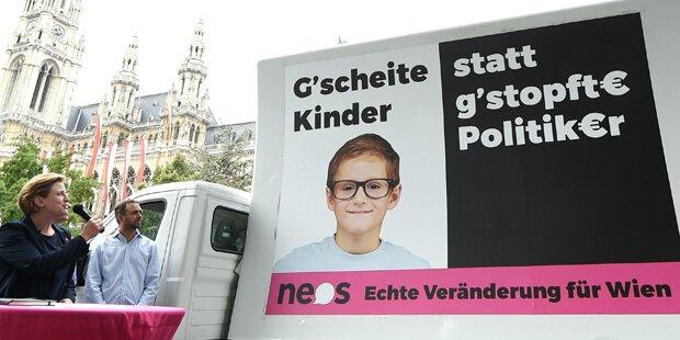 NEOS starten in den Wien-Wahlkampf