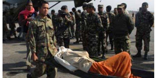 Mehr als hundert Tote bei Brückeneinsturz in Nepal
