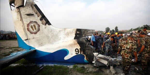 Adler verursachte Flugzeug-Absturz