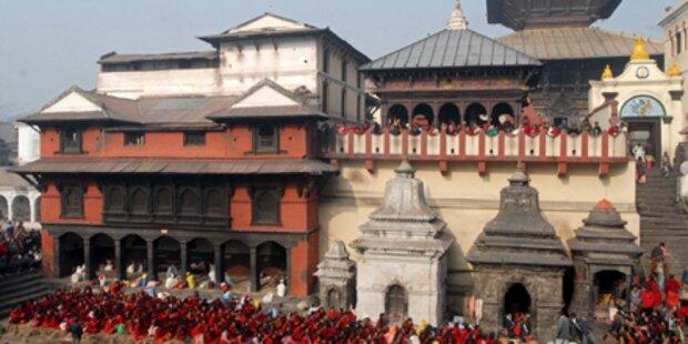 Tempel geht gegen turtelnde Pärchen vor