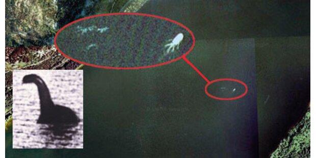 Nessie mit Google Earth entdeckt