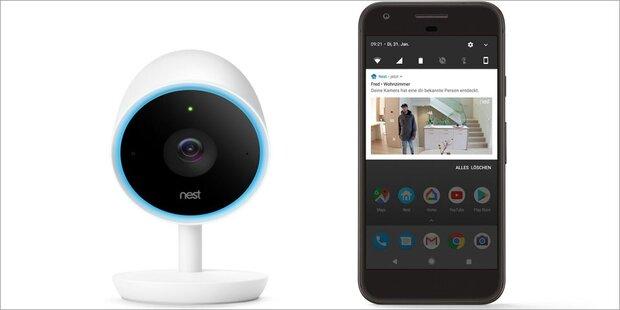 nest bringt weitere smart home kamera die cam iq startet. Black Bedroom Furniture Sets. Home Design Ideas