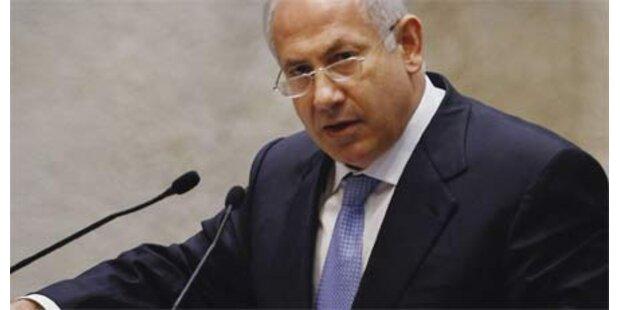 Netanyahu ist in Amt und Würden