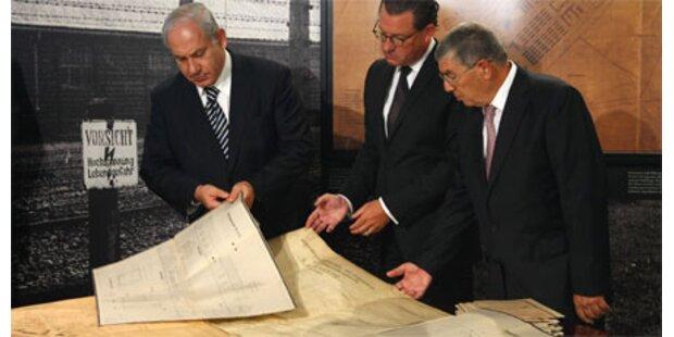 Original-Auschwitzpläne für Netanyahu