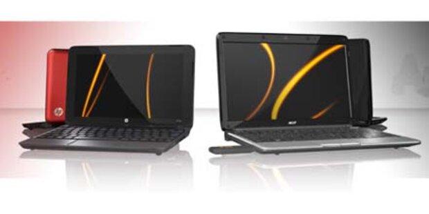 Acer- und HP-Netbooks um 0 Euro