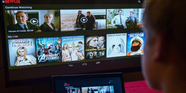 Videodienst Netflix bereits gestartet