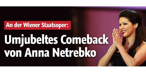 Netrebko feiert umjubeltes Comeback