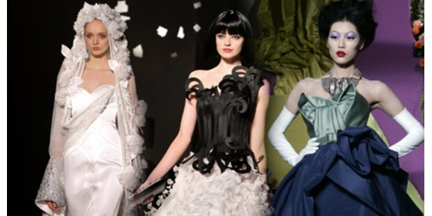 Märchenhafte Couture-Shows in Paris