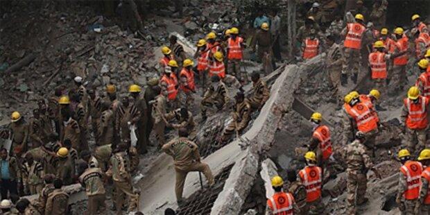 66 Tote bei Hauseinsturz in Indien