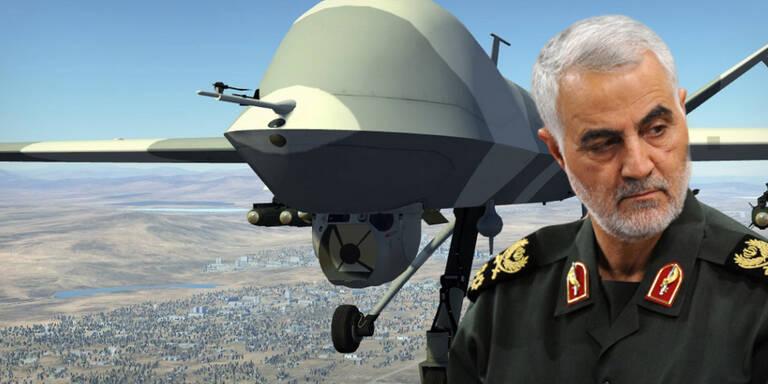 Diese Killer-Drohne tötete Irans General Soleimani