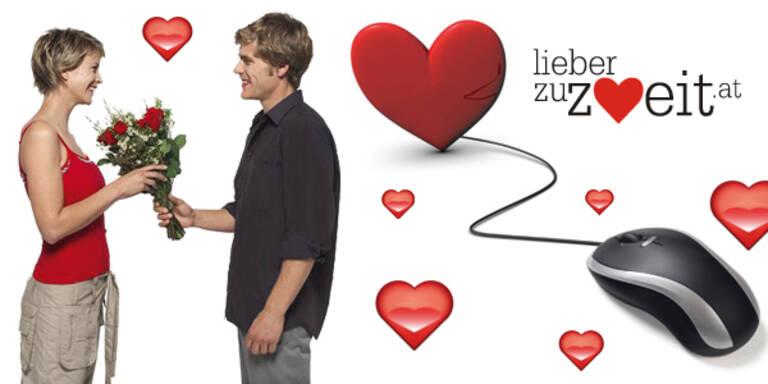 Valentinstags-Angebot der Flirt-Plattform www.lieberzuweit.at