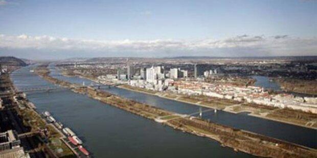 Feuerwehr rettet Betrunkenen aus der Donau