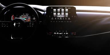 Neuer Qashqai bekommt ein Hightech-Cockpit