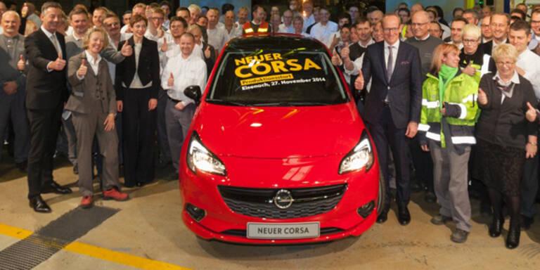 Startschuss für den neuen Opel Corsa