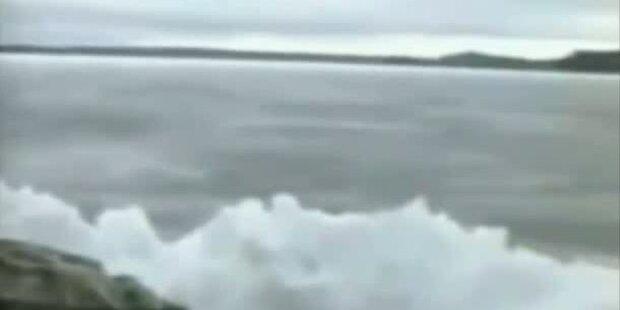 Naturphänomen - Wellen frieren ein