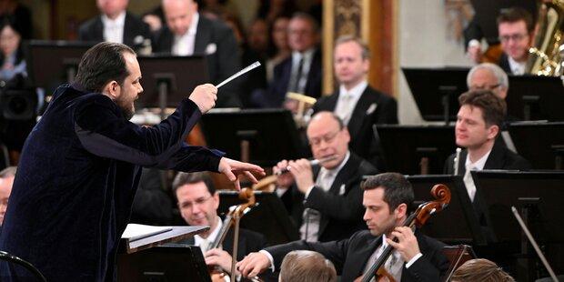 Neujahrskonzert: Nelsons rührte kräftig in der Wiener Ursuppe
