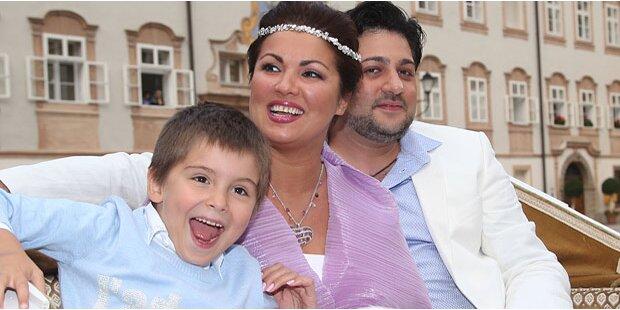 Anna Netrebko feierte Verlobung in Salzburg