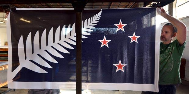 Neuseeland Flagge neu?