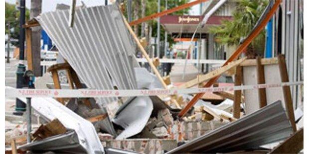 Notstand nach Erdbeben in Neuseeland