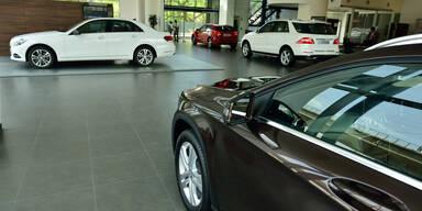 Österreicher kaufen neue Autos wie verrückt
