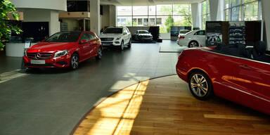 Europas Automarkt auf Überholspur