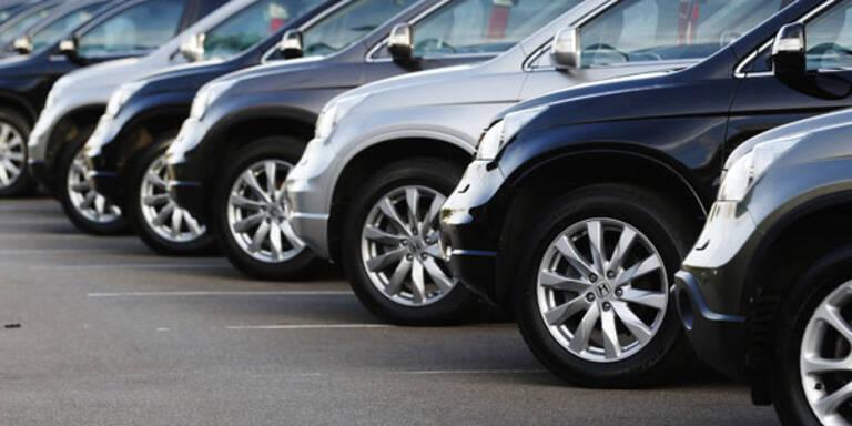 Nur Opel, BMW und Skoda im Plus