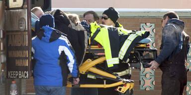 Familie überlebte 2 Tage in Eis-Hölle