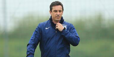 Gary Neville will nicht mehr Trainer sein