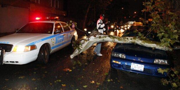 Schwerer Sturm legt New York lahm